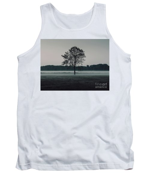 Tank Top featuring the photograph Forest Fog by MGL Meiklejohn Graphics Licensing