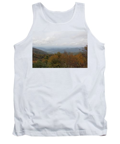 Forest Landscape View Tank Top