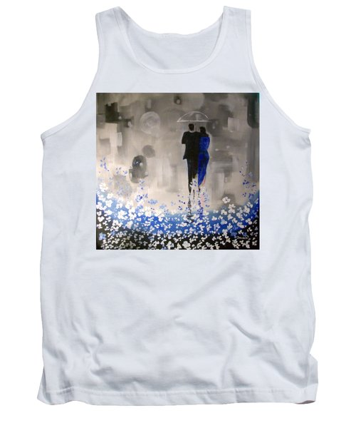 Forever Love Tank Top by Raymond Doward