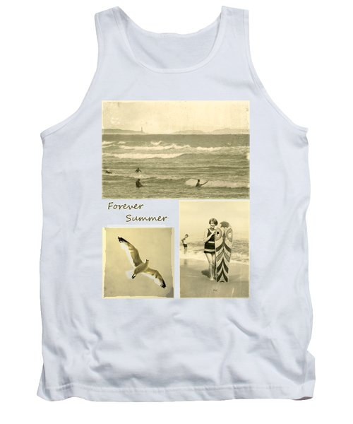 Tank Top featuring the photograph Forever Summer 3 by Linda Lees