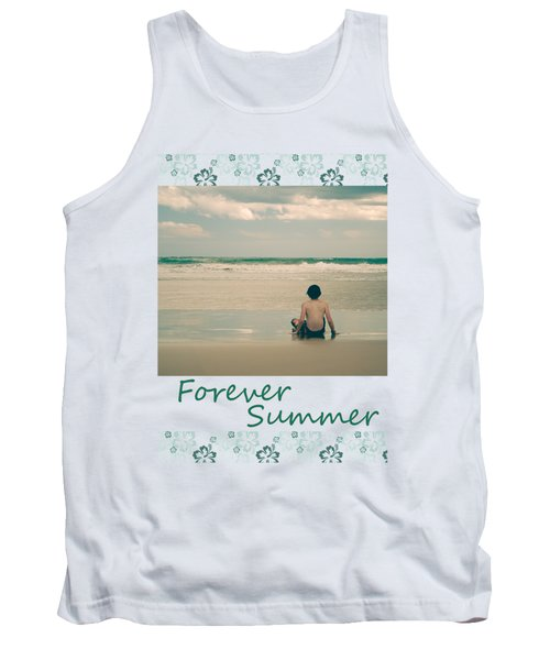 Tank Top featuring the photograph Forever Summer 7 by Linda Lees