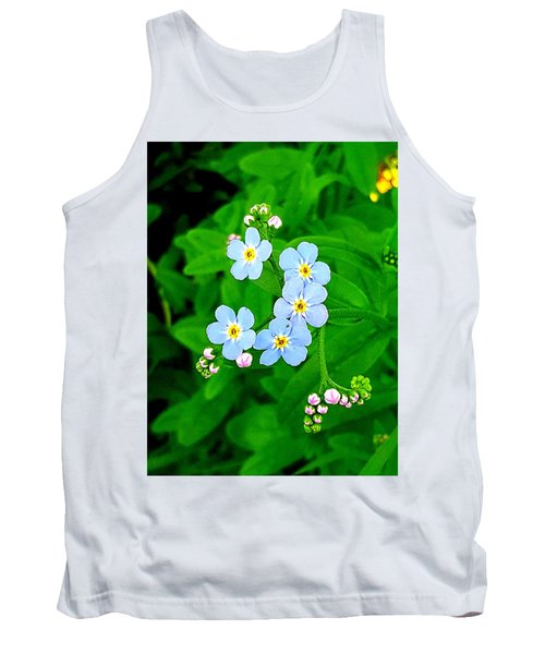 Forget Me Nots Tank Top
