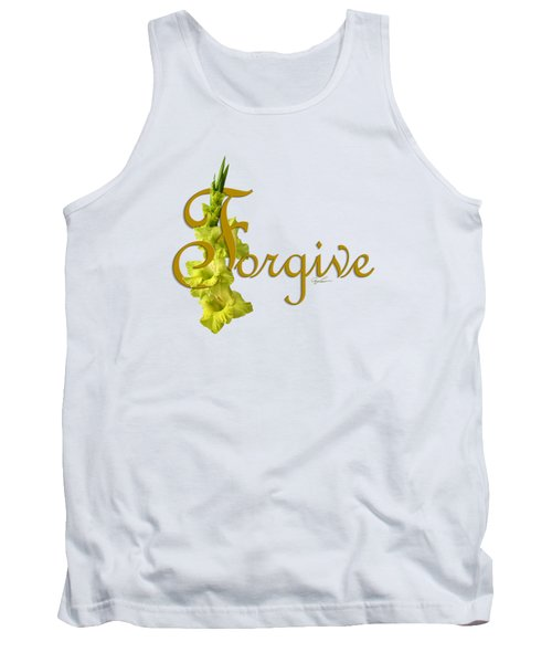 Tank Top featuring the digital art Forgive by Ann Lauwers
