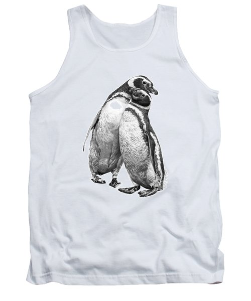Forrest And Jenny The Penguins Tank Top