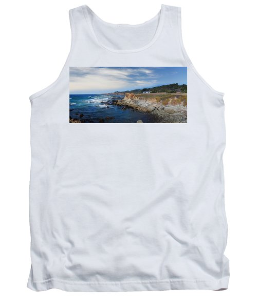 Fort Bragg Mendocino County California Tank Top by Wernher Krutein