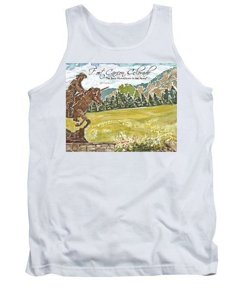 Best Hometown In The Army Tank Top