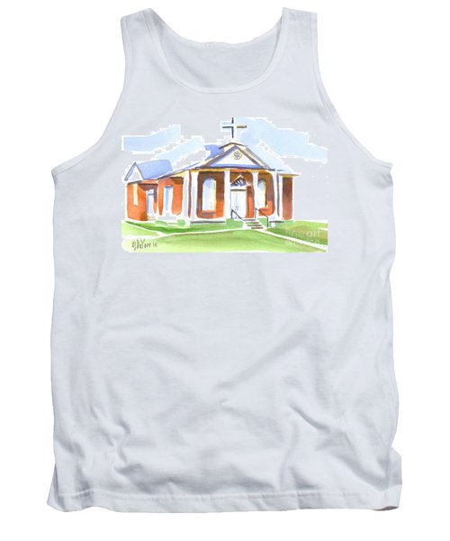 Fort Hill Methodist Church Tank Top by Kip DeVore