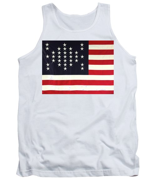 Fort Sumter Flag Tank Top