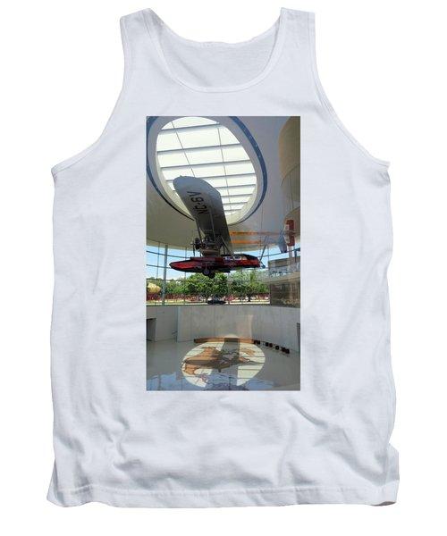 Tank Top featuring the photograph Fortaleza Hall, Spirit Of Carnauba by Mark Czerniec