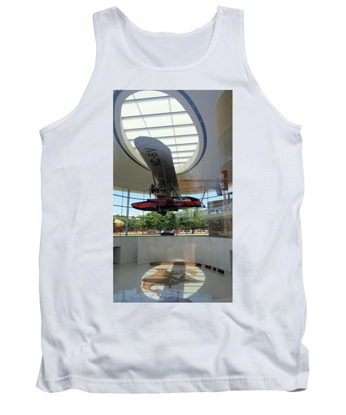 Tank Top featuring the photograph Fortaleza Hall, Spirit Of Carnauba by Mark Czerniec