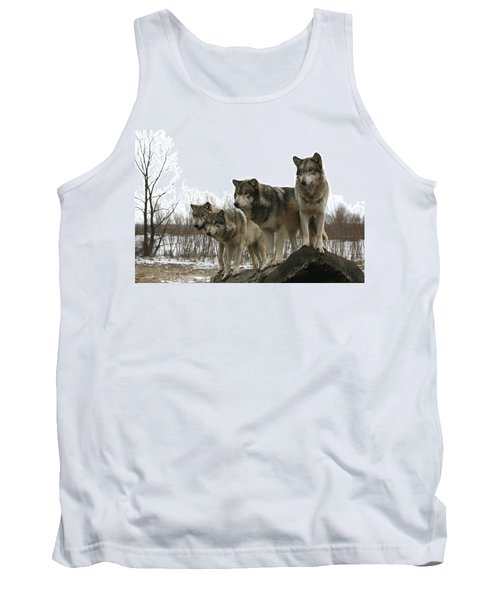 Tank Top featuring the photograph Four Pack by Shari Jardina