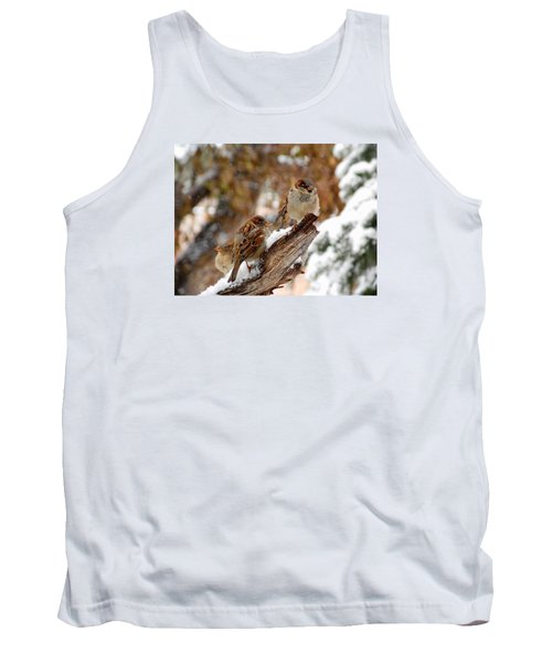 Four Sparrows Tank Top