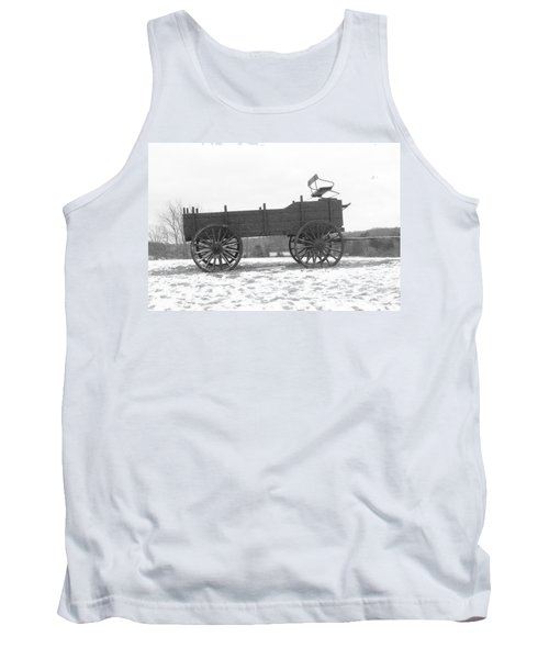 Tank Top featuring the digital art Four Wheel Drive by Barbara S Nickerson