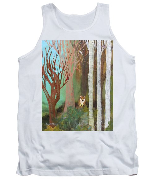 Fox In The Forest  Tank Top