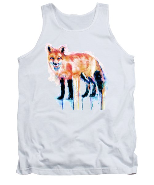 Fox  Tank Top by Marian Voicu