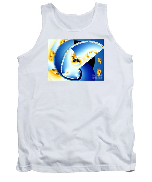 Fractal Construct Tank Top by Ron Bissett