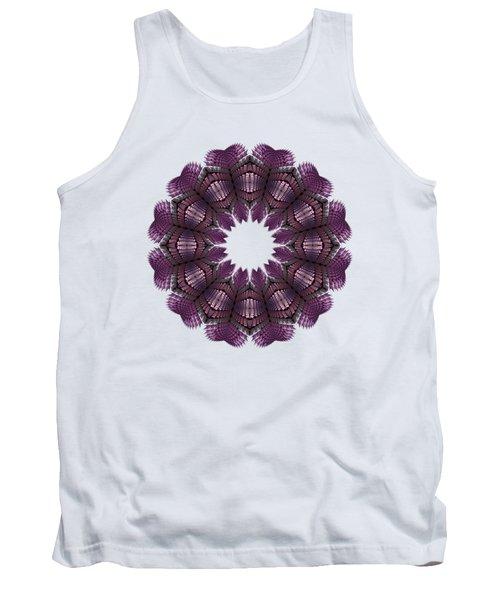 Fractal Wreath-32 Violet T-shirt Tank Top