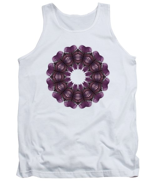 Fractal Wreath-32 Violet T-shirt Tank Top