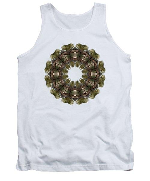 Fractal Wreath-32 Earth T-shirt Tank Top
