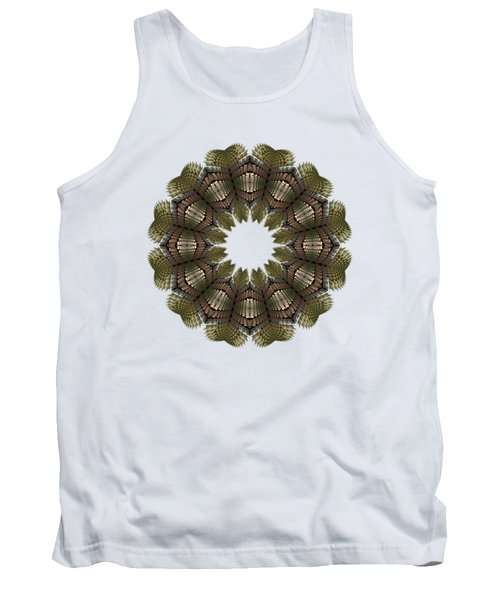 Fractal Wreath-32 Earth T-shirt Tank Top