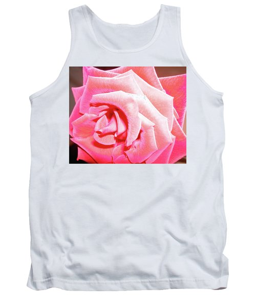 Tank Top featuring the photograph Fragrant Rose by Marie Hicks