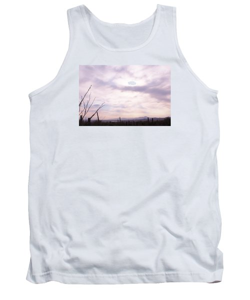 Framed Cloud Tank Top
