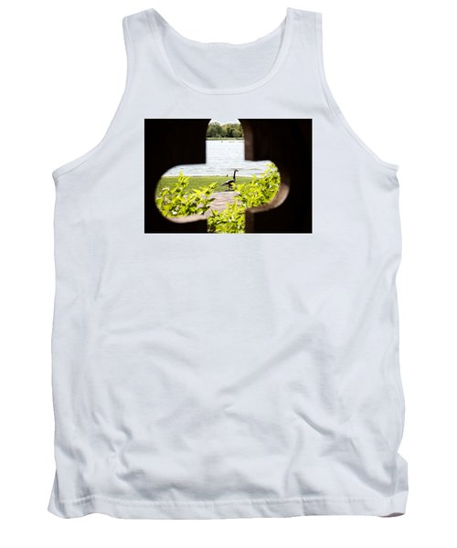 Framed Nature Tank Top by Milena Ilieva