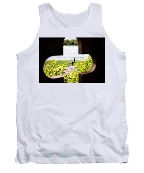 Framed Nature Tank Top