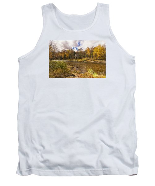 Tank Top featuring the photograph Franconia Iron Works by Anthony Baatz