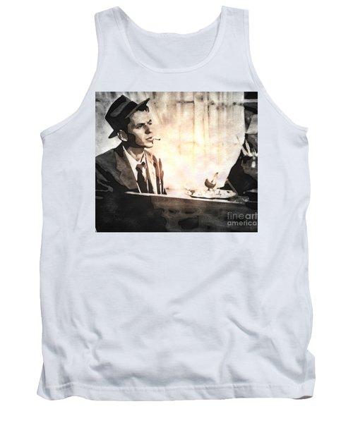 Frank Sinatra - Vintage Painting Tank Top