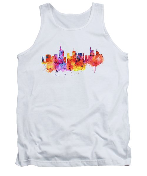 Frankfurt Skyline Tank Top