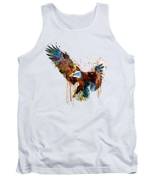 Free And Deadly Eagle Tank Top