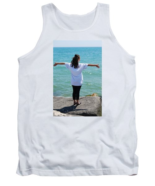Tank Top featuring the photograph Freedom by Ramona Whiteaker