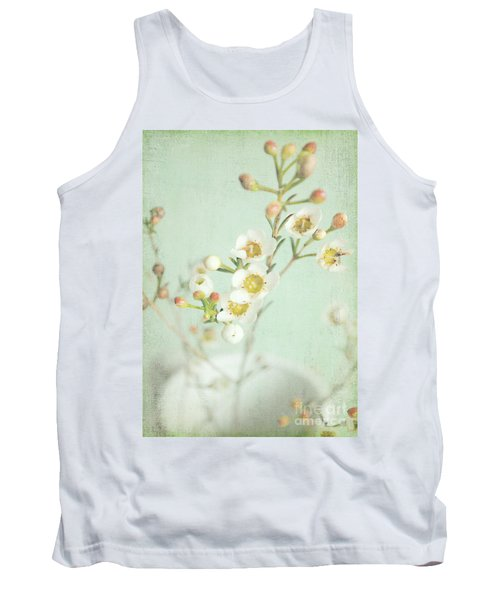 Freesia Blossom Tank Top by Lyn Randle