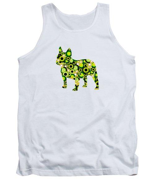French Bulldog - Animal Art Tank Top