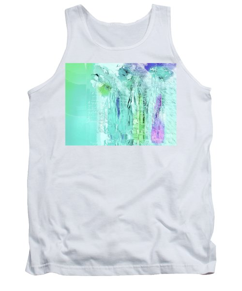 Tank Top featuring the digital art French Still Life - 14b by Variance Collections