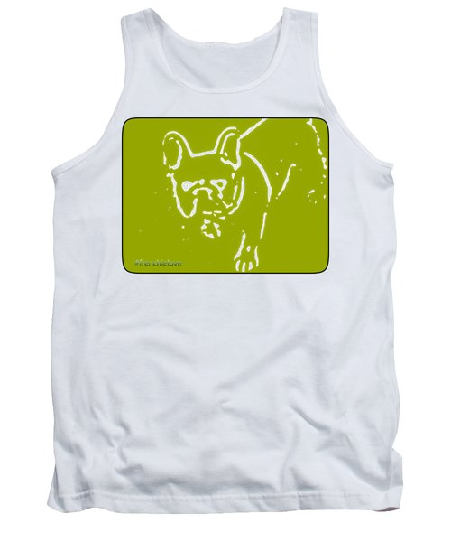Frenchielove Design Chartreuse Tank Top