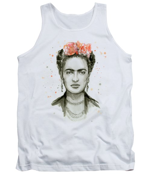 Frida Kahlo Portrait Tank Top