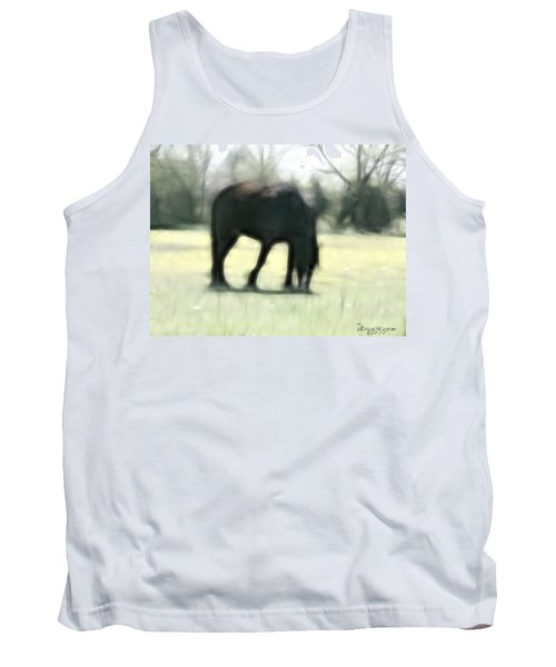 Tank Top featuring the photograph Friend Of Distinction  by EricaMaxine  Price