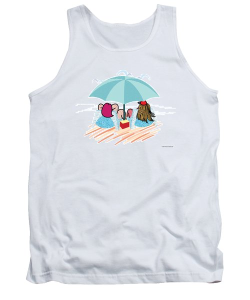 Friends Tank Top by Steve Ellis