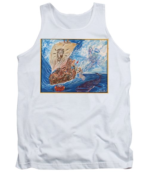 Friggin In The Riggin - Kon Tiki Expedition Tank Top