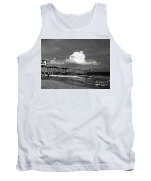 Frisco Pier 2015 B And W  Tank Top