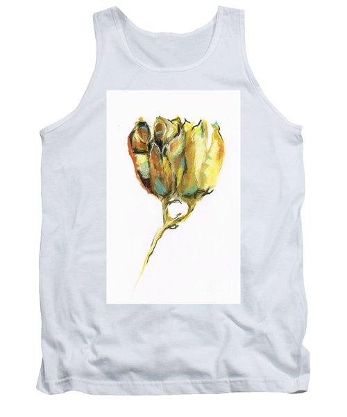 Tank Top featuring the painting Fritillaria by Frances Marino