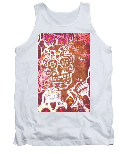 From A Tribal Design Tank Top
