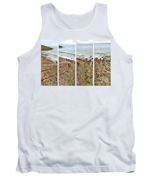 Tank Top featuring the photograph From Ship To Shore by Stephen Mitchell