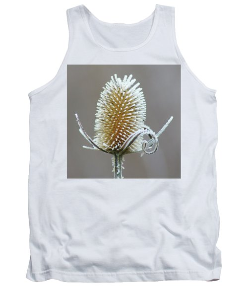 Frosted Teasel Tank Top by Nikolyn McDonald