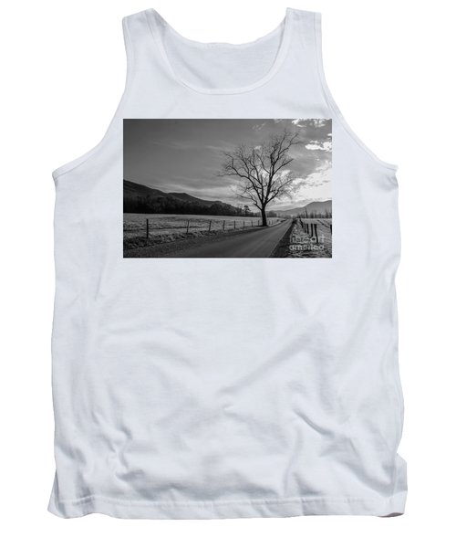 Frosty Morn Tank Top by Marilyn Carlyle Greiner