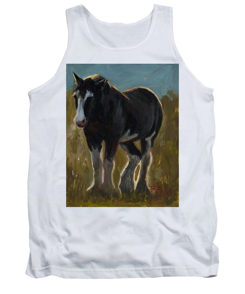Frosty Morning Tank Top by Billie Colson