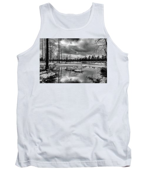 Frozen Mullica River Tank Top