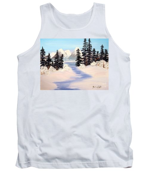 Frozen Tranquility Tank Top